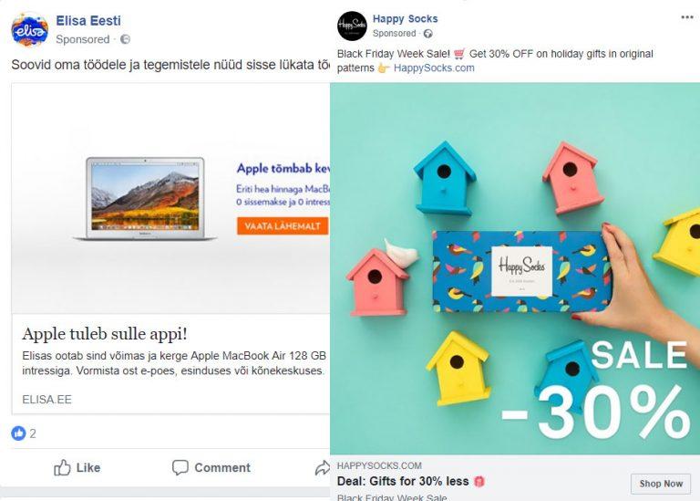 Üle 90% turundajatest ei kasuta seda reklaamiformaati Facebookis