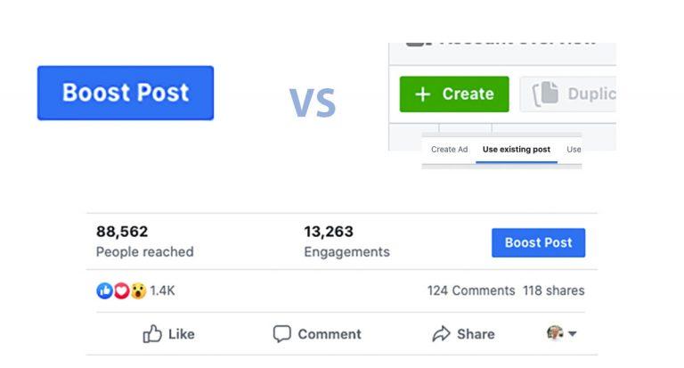 Boost Post vs reklaamihaldur – müüdid vs tegelikkus!